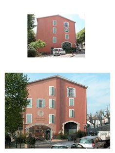 Before...After - Post House by Patrick Commecy & A.Fresco (Mandelieu-La Napoule, France)