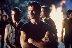 Patrick Swayze in The Outsiders (1983)