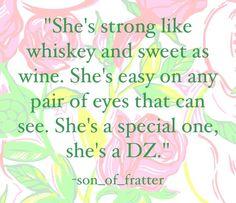 She's a DZ.
