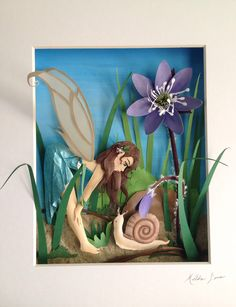 The art of Hilda Lara Faerie paper sculpture
