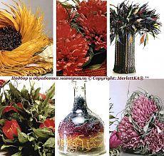 Декор и цветы из бумажных веревочек - основы и техника.