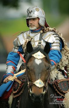 Polish hussar. 16th-17th century.: