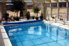 Indoor pool by Master Pools, Calgary