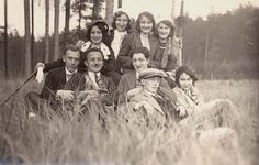 Czechoslovakia, young Jews during a hike, before the war.  Belongs to collection: Yad Vashem Photo Archive