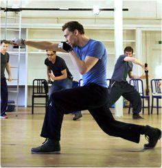 Training for Coriolanus
