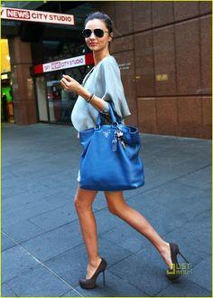 Miranda Kerr's street style