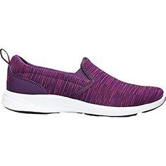 15f36b641c6 Vionic Womens Agile Kea Slip On Sneaker Purple Multi Size 7.5