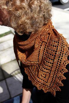 Ravelry: Brandywine Shawl pattern by Rosemary (Romi) Hill