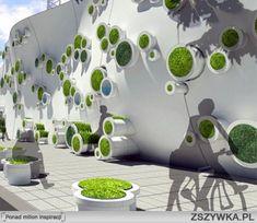Muy buena solución de agregar verde, en forma limpia y para espacios reducidos