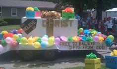 DIY parade float