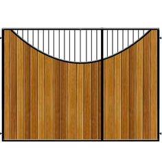3/4 Split Gates. The Lyndhurst by Gates and Fences UK. Looking for a larger leaf with a smaller gate for your entrance. Made to measure from one of UK's largest Gate Manufacturers.