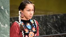 Autumn Peltier, a from Manitoulin Island on Georgian Bay, delivered a strong message to the United Nations General Assembly that the world needs to stop polluting its water.
