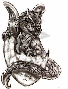 Baby Dragon by ~rgalvan on deviantART