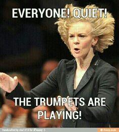 I. Wish.  JazzyTrumpet Marching Band Jokes, Marching Band Problems, It Band, Band Nerd, Music Jokes, Music Humor, Trumpet Music, Band Camp, Trumpets