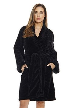 Just Love Kimono Robe Velour Scalloped Texture Bath Robes for Women 9dd34a807