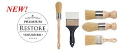 Restore is a complete collection of handmade bristle and synthetic brushes with unique shapes and sizes, designed to create a spectrum of finishes from smooth to specialty surfaces. The best results deserve the best brushes.
