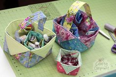 Sewing for home & kitchen - crafty gemini Diy And Crafts Sewing, Crafts To Sell, Sewing Projects, Gift Crafts, Crafty Gemini, Craft Wedding, Crafts For Teens, Easter Baskets, Craft Videos