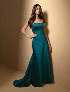 Peacock Bridesmaid Dress   #Peacock Wedding  ... Wedding ideas for brides, grooms, parents & planners ... https://itunes.apple.com/us/app/the-gold-wedding-planner/id498112599?ls=1=8 … plus how to organise an entire wedding, without overspending ♥ The Gold Wedding Planner iPhone App ♥