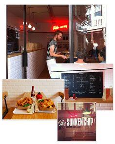 The Sunken Chip 39 Rue des Vinaigriers, Paris 10ème, du mercredi au dimanche, services midi et soir.