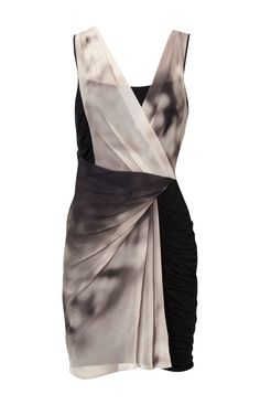 Karen Millen Ombre Print Jersey Dress [#KMM066] - $90.15 :