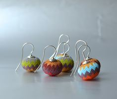 donauluft beaded earrings