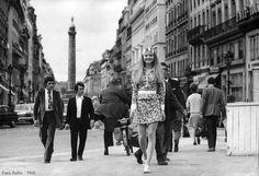 #Sixties | Ewa Aulin, Paris, 1968
