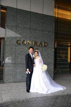 まるで映画のようなワンシーンは、 コンラッドの花嫁様からのお写真です。  許可をいただいてメールとお写真をご紹介。  ・・・・・・・・・・・...