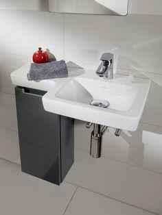 Villeroy & Boch Subways 2.0 with Glossy Grey Furniture