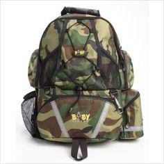 Baby Sherpa Baby Sherpa Diaper Backpack - Camo.