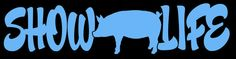 Show Life Hog Pig Swine Sow Vinyl Decal Sticker -H Agricultural Farming Farm Farmers Vehicle Auto Car Truck Laptop Macbook Wall Window This listing is for High Quality Vinyl Decal Custom Decals, Vinyl Decals, Hog Pig, Pig Showing, Handmade Scrapbook, Showing Livestock, Silhouette Clip Art, Flying Pig, Paper Book