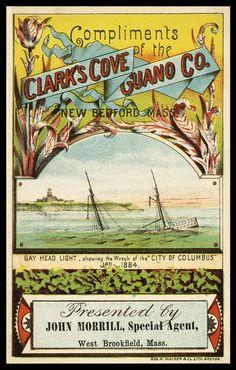 Clark's Cove Guano Company | Sheaff : ephemera