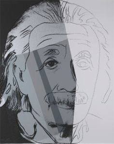 Ten Portraits Of Jews In The Twentieth Century- Albert Einstein  Andy Warhol