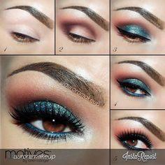 Stunning by #auroramakeup #motivescosmetics