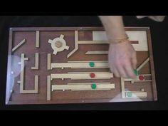 Magnet Maze for Escape Rooms