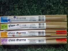 Smith and Blessings: Glass Dharma: The Original Glass Straw & a Giveaway!