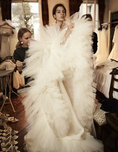 1c9d2ea9ace7 Behind the scenes impressions    Paris Fashion Week  bridalcouture   bridaldress  weddinggown