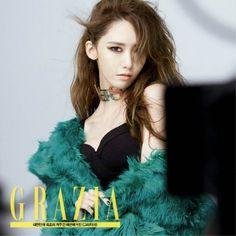 More cuts from SNSD Yoona's solo photoshoot for 'Grazia' Im Yoona, Sooyoung, Grazia Magazine, Instyle Magazine, Cosmopolitan Magazine, Lee Min Ho, South Korean Girls, Korean Girl Groups, Yuri