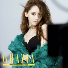 YoonA is the queen of high fashion with her seductive gaze and endless legs in more photos from 'Grazia'! | allkpop.com
