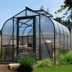 Sun Garden Color Greenhouse - Green frame by Sun. $2995.00. Now available in green or brown painted frame! This popular version of our Cross Country model offers all of the benefits of a premium aluminum and polycarbonate greenhouse at a discounted price.