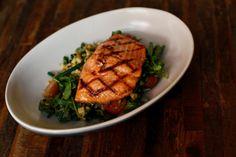 Grilled Steelhead Salmon