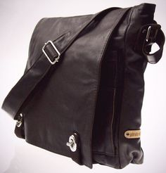 Extremely soft leather messenger bag for men. Argentine leather, Argentine designer Gabriela Michelena Morrales. Right now $215