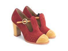 Whether you are looking for casual shoes or vintage high heels, Fluevog women's shoes are more than a fashion statement. Shop now! Vintage High Heels, Vintage Shoes, T Strap Heels, Lace Up Heels, Boho Heels, Ugly Shoes, New Shoes, Women's Shoes, Buy Shoes Online