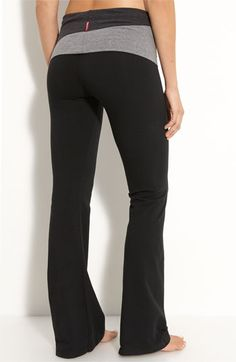 Hard Tail Colorblock Waistband Pants available at #Nordstrom