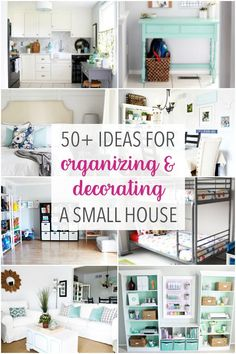 50 Ideas For Organizing And Decorating A Small House Townhouse Or Condo