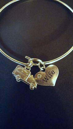 Donated by TheButterflyWife EMT / Paramedic Wife Bracelet