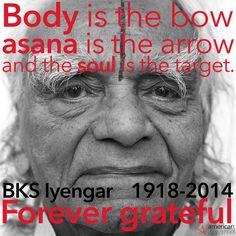 R.I.P. BKS Iyengar #yoga