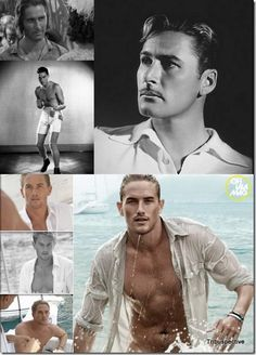 Errol Flynn and Grandson Luke Flynn