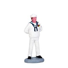 Lemax Sailor. SKU# 72500. Released in 2017 as a Figurine for Lemax General Products.