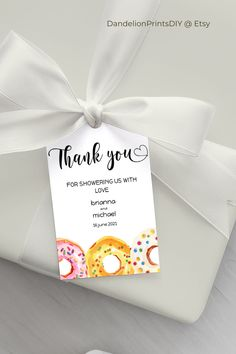 Introducing KIM - cute donut thank you tags for your baby shower, these match our KIM collection.#thankyoutags #doughnutbabyshower #donutstickers Pocket Invitation, Invitation Kits, Baby Shower Invitation Templates, Favor Tags, Gift Tags, Baby Sprinkle Invitations, Cute Donuts, Baby Shower Thank You, Thank You Tags