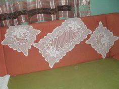 Heklanje | Sheme heklanja | Šeme za heklanje - stranica 137 Filet Crochet Charts, Free Crochet, Crochet Symbols, Crochet Patterns, 5 Diy Crafts, Crochet Table Runner Pattern, Craft Free, Diy Table, Crochet Doilies